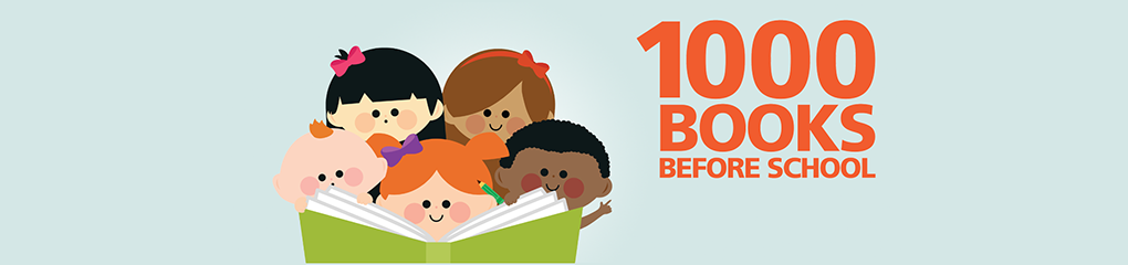 1000 Books Banner