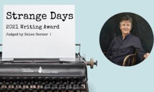 Strange Days Writing Award FB e1629964137819
