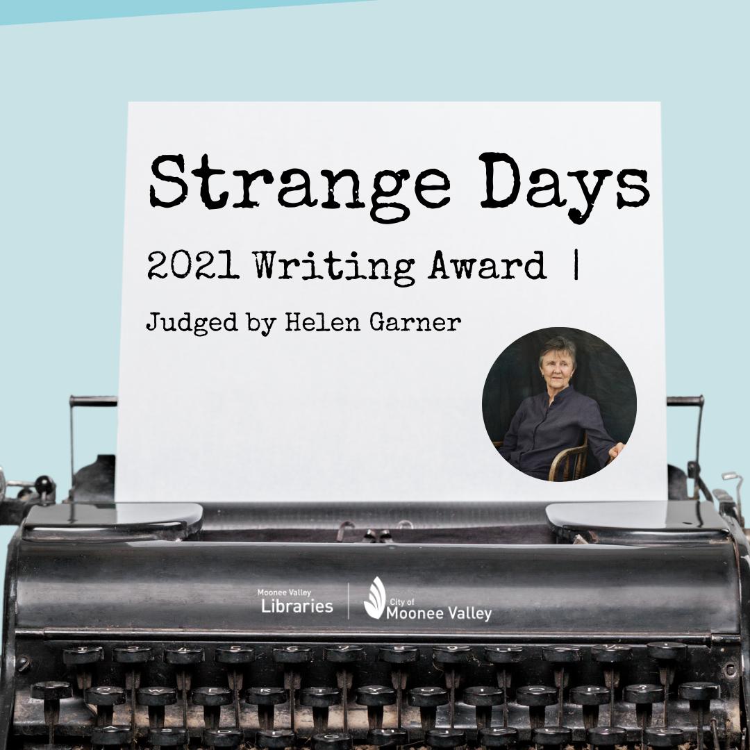 Strange Days Writing Award IG